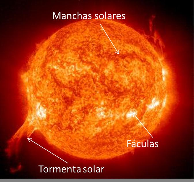 faculas y manchas solares